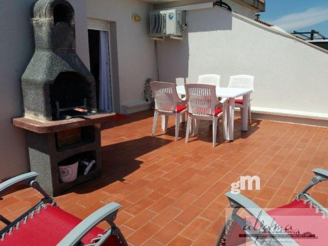 For rent of penthouse in L´Ametlla de Mar