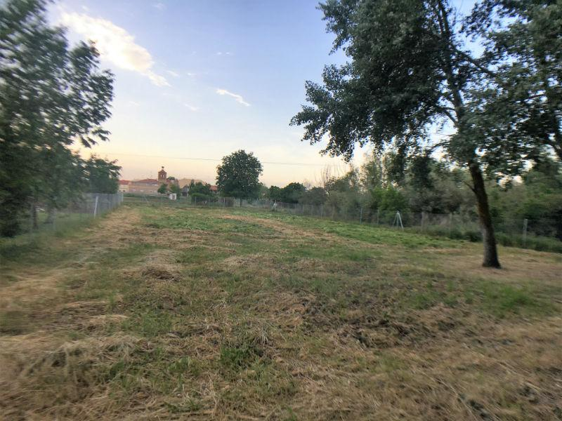 For sale of land in Aldealengua
