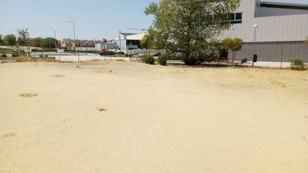 For sale of land in Madrid