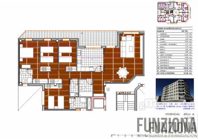 For sale of building in Pontevedra