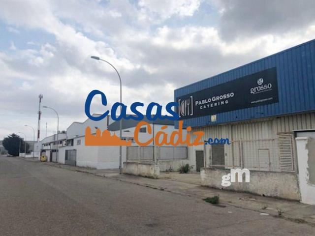 Venta de nave industrial en Puerto Real