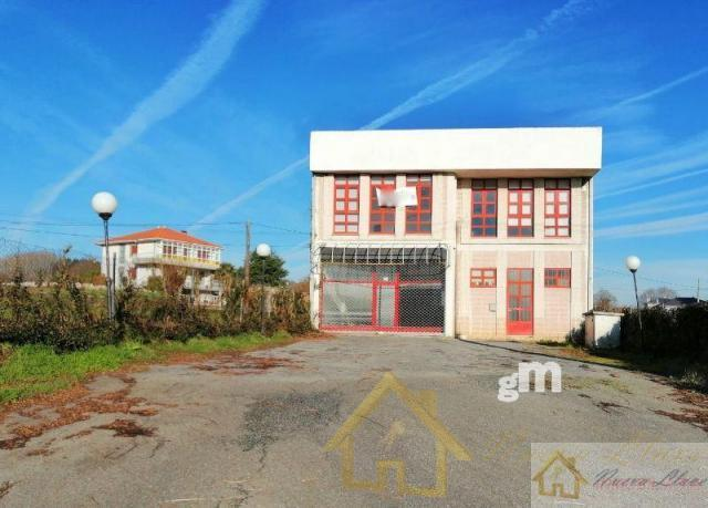 For rent of industrial plant/warehouse in Lugo
