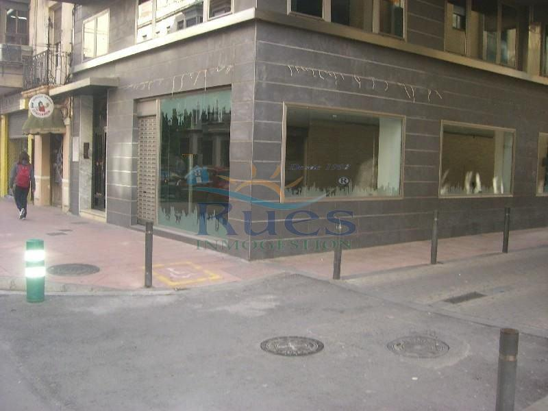 Alquiler de local comercial en Castellón