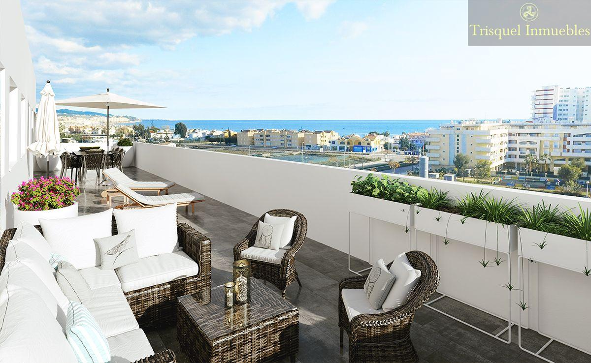 For sale of penthouse in Torre del Mar