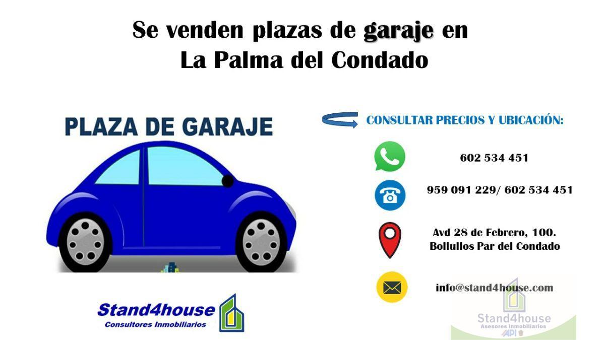 For sale of garage in La Palma del Condado