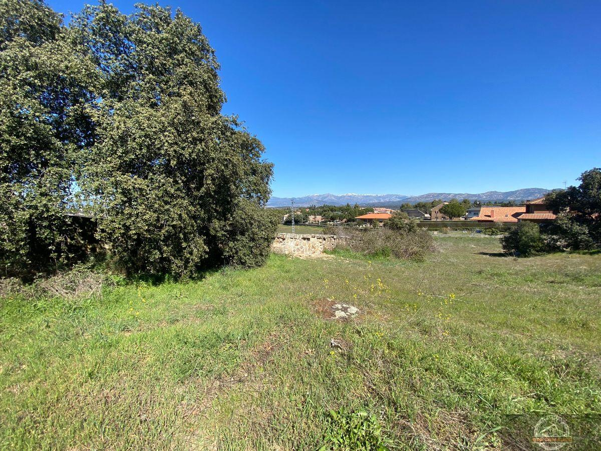 For sale of land in Galapagar