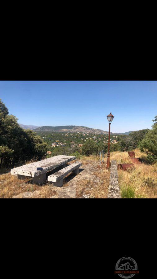 For sale of land in Guadarrama
