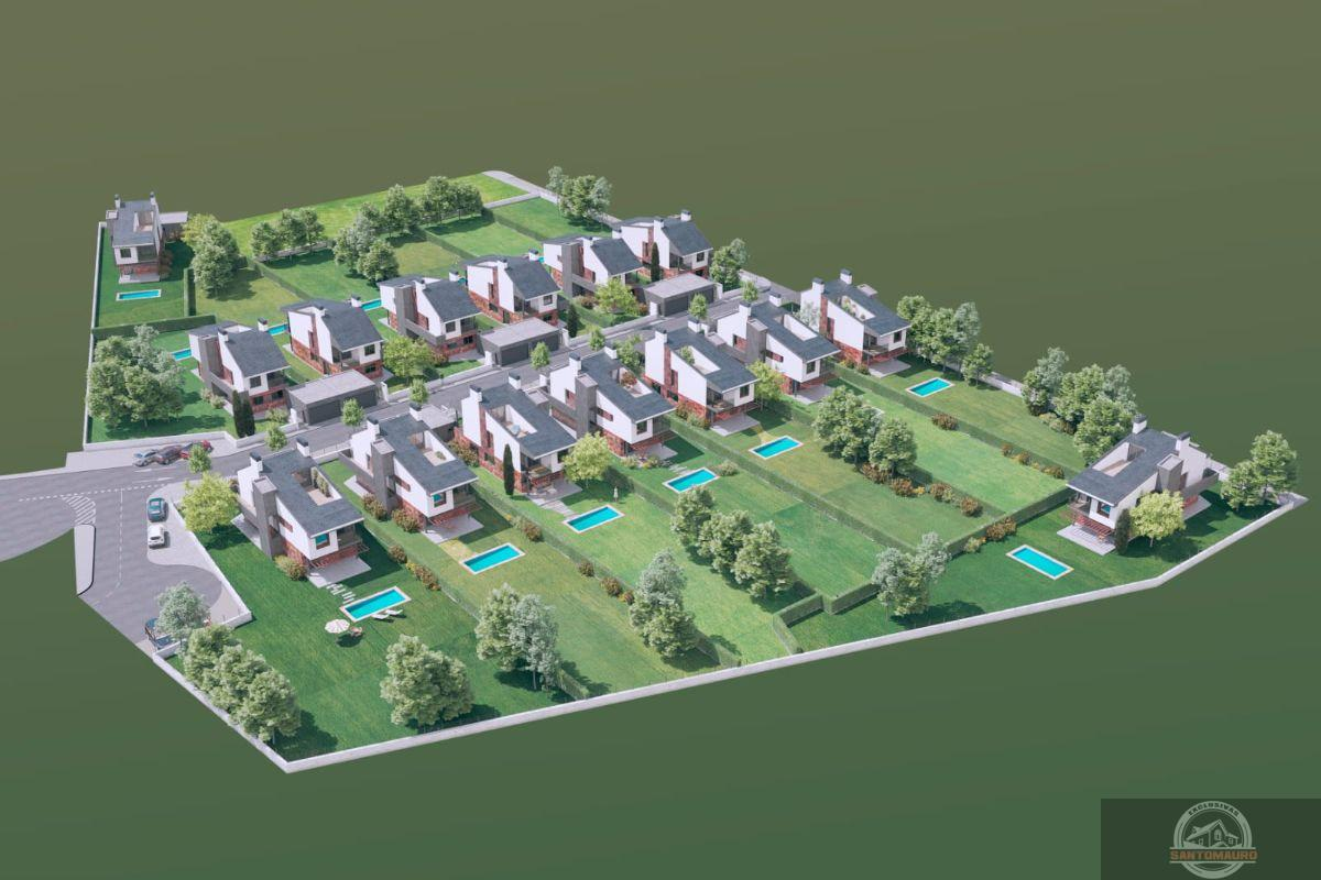 For sale of new build in Galapagar