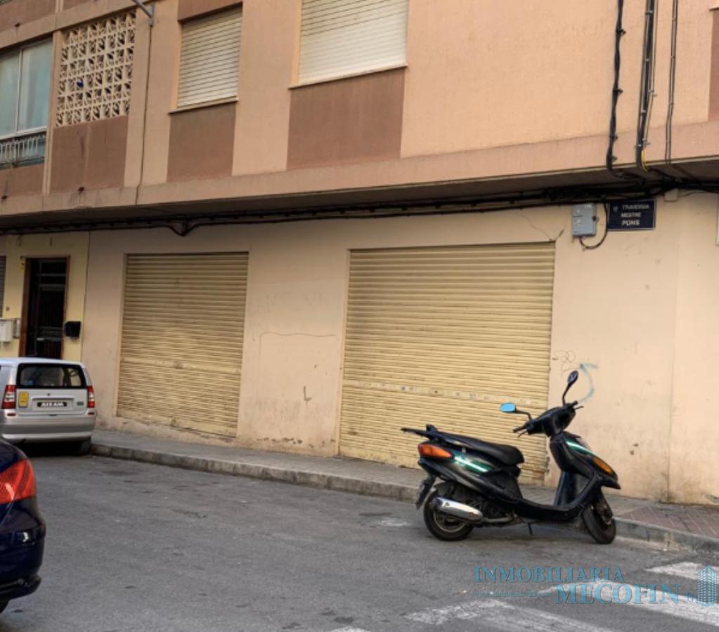 Venta de local comercial en Villajoyosa
