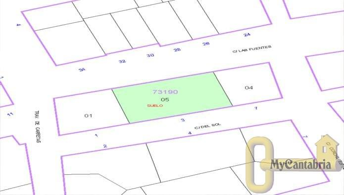For sale of land in Reinosa