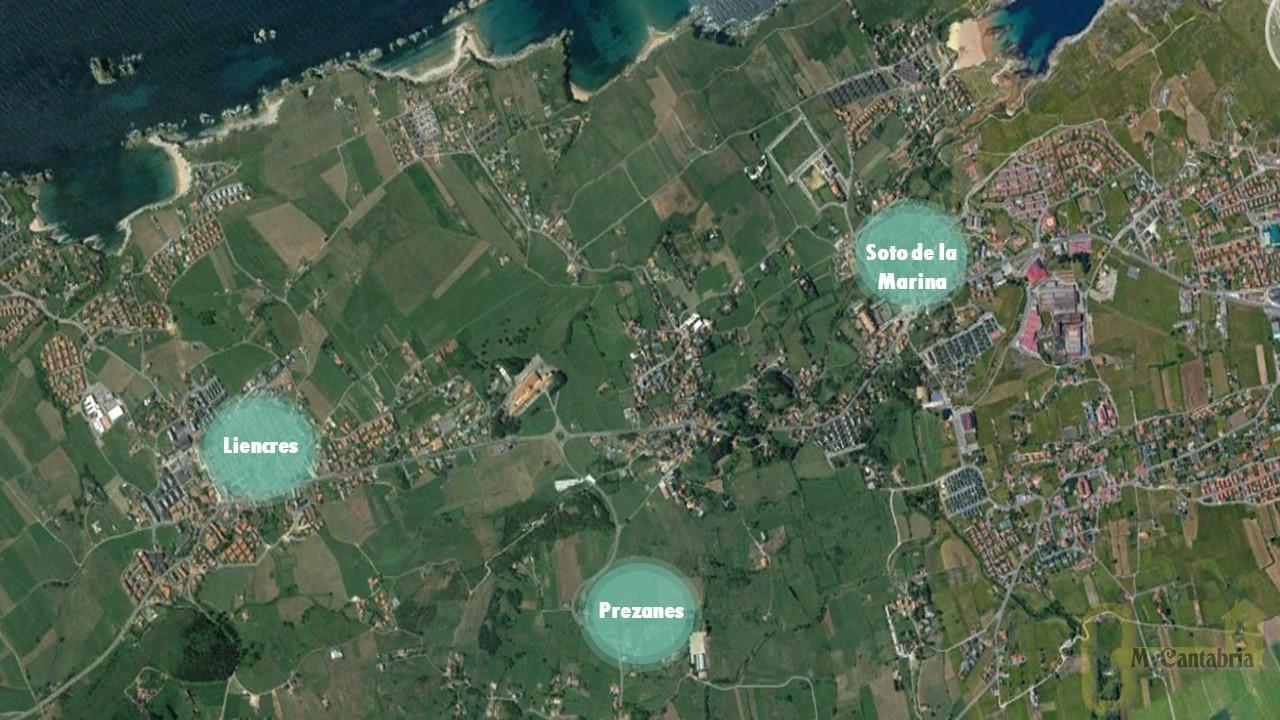 For sale of land in Santa Cruz de Bezana