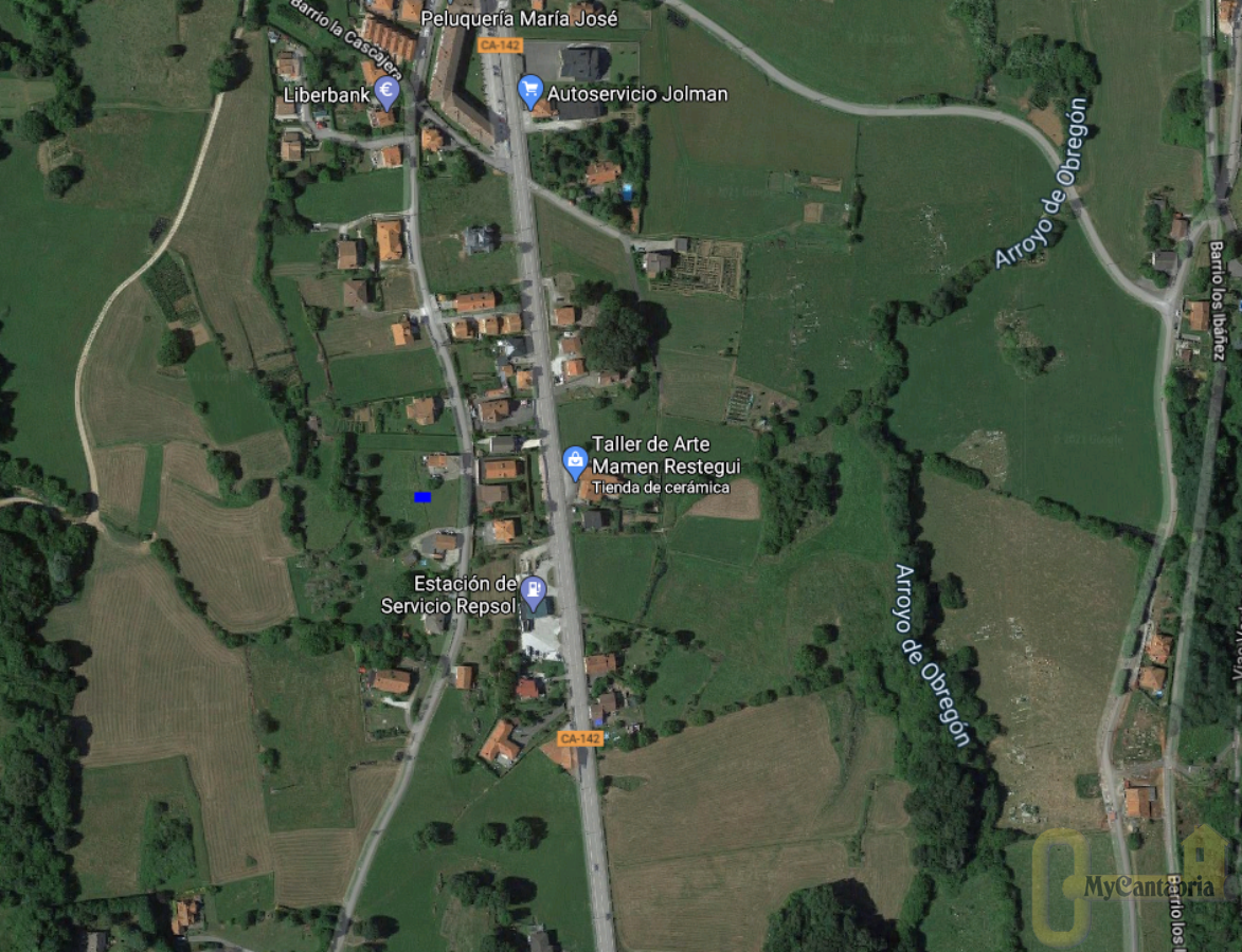 For sale of land in Villaescusa