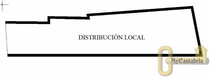 For rent of commercial in Santander