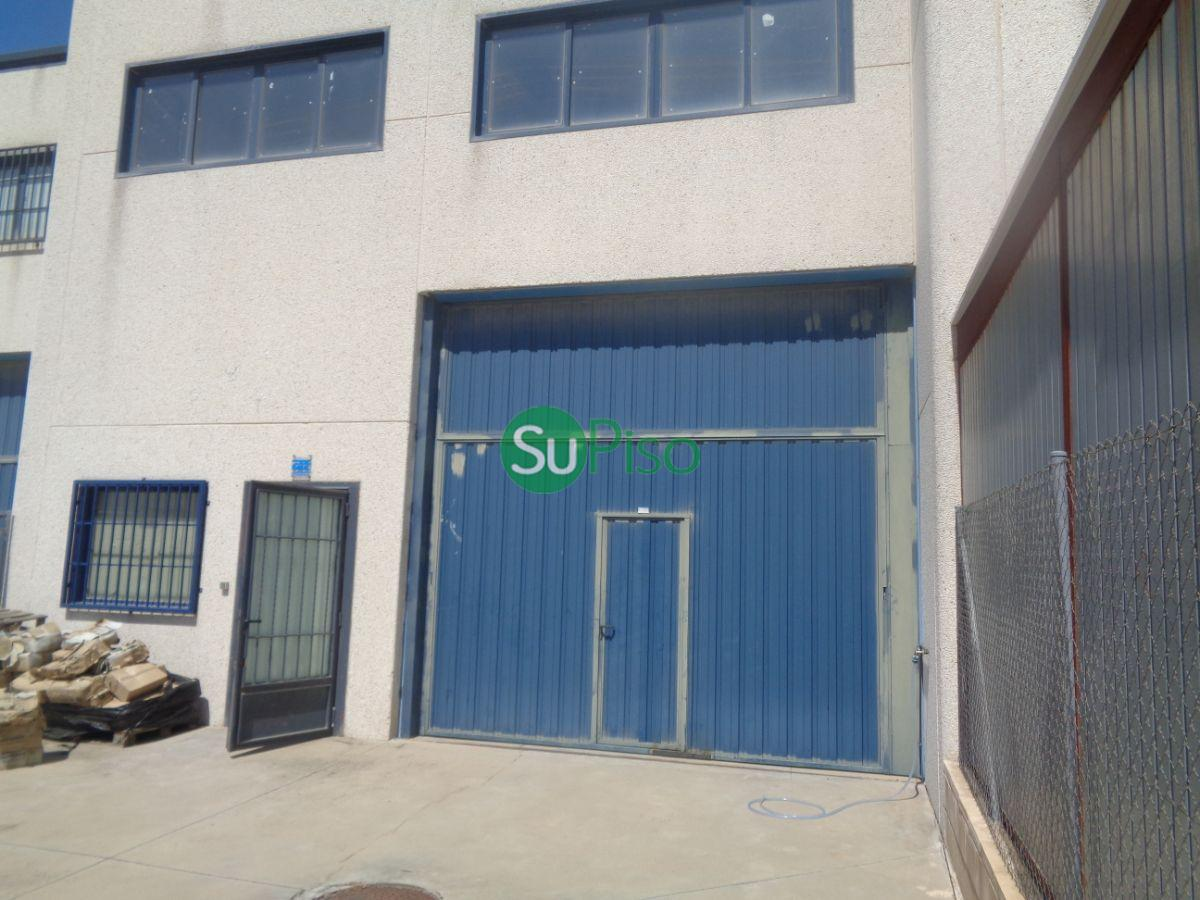 For sale of industrial plant/warehouse in Illescas