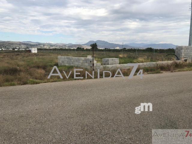 For sale of land in Puerto Lumbreras