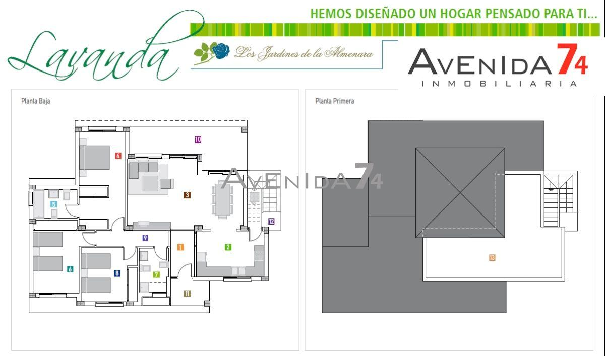 For sale of new build in Lorca
