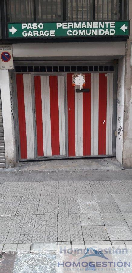 For sale of garage in Bilbao