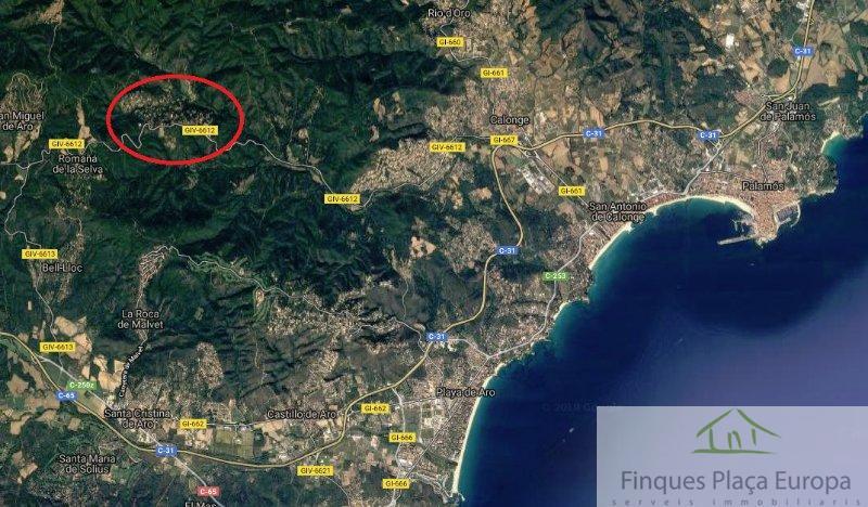 Venda de terreny a Santa Cristina d Aro