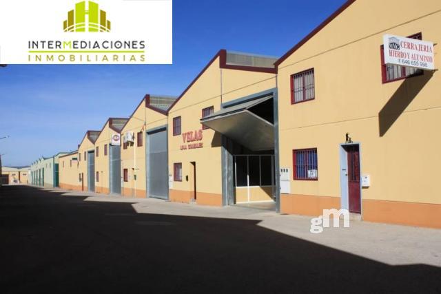 For rent of industrial plant/warehouse in Chinchilla de Monte-Aragón