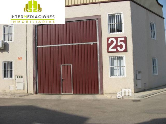 For rent of industrial plant/warehouse in Albacete