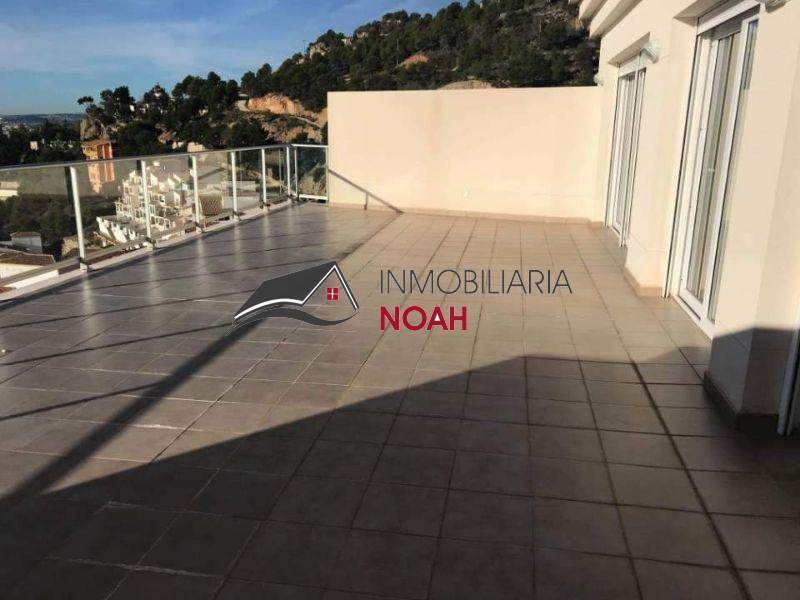 For rent of penthouse in Altea