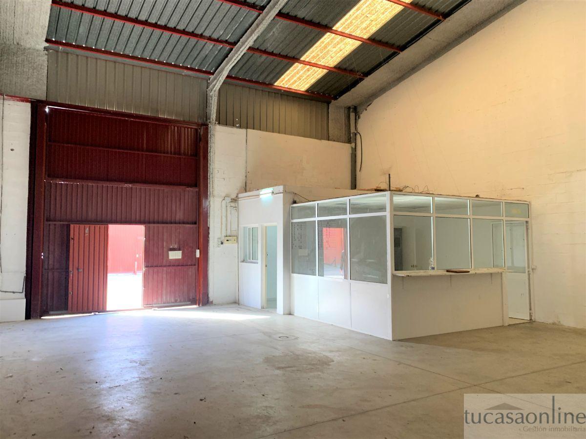 Alquiler de nave industrial en Jerez de la Frontera