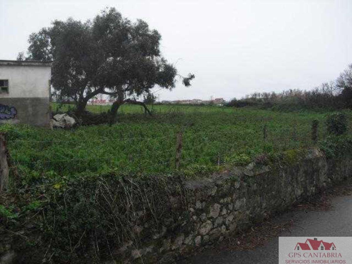 For sale of land in Santander