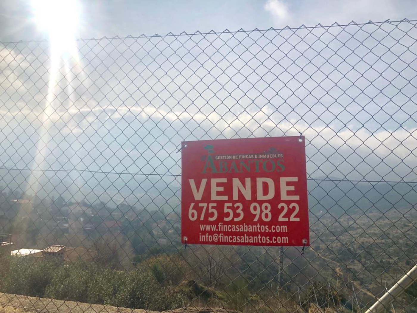For sale of land in Robledo de Chavela