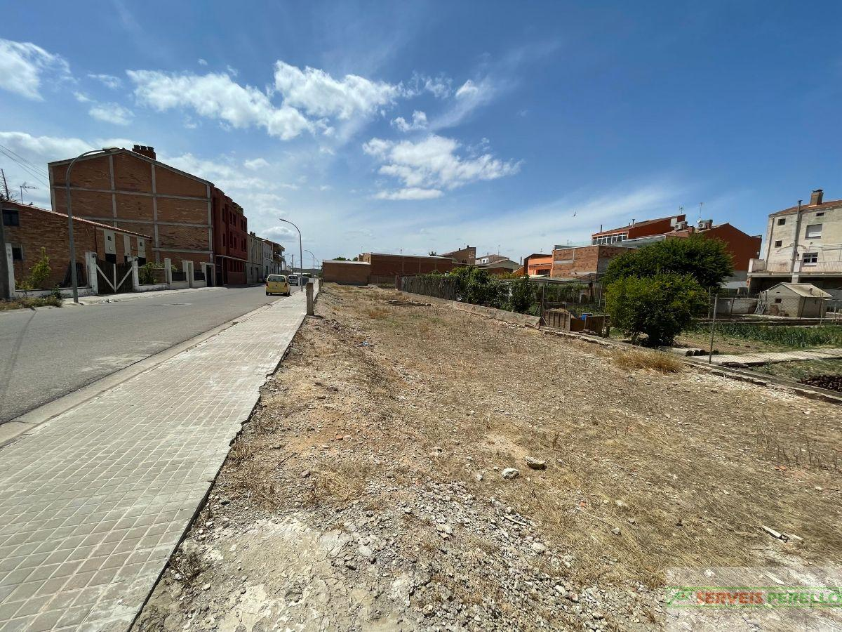 For sale of land in Mollerussa
