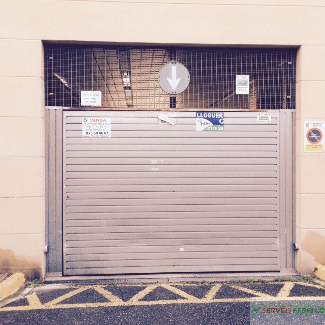 Venta de garaje en Mollerussa