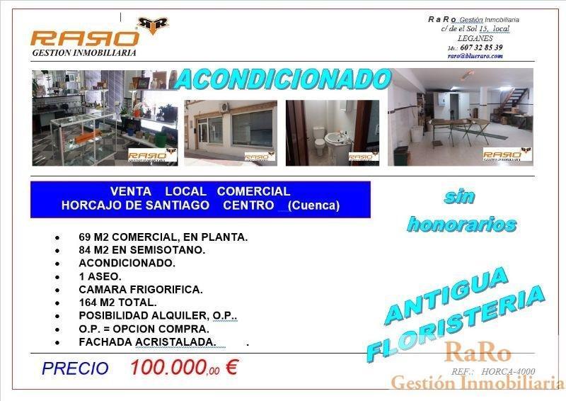For sale of commercial in Horcajo de Santiago