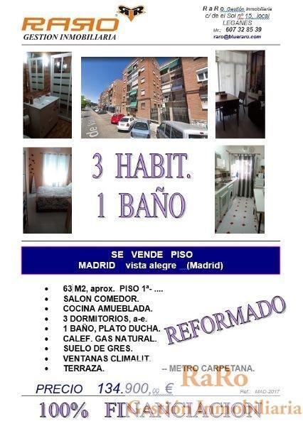 Venta de estudio en Madrid