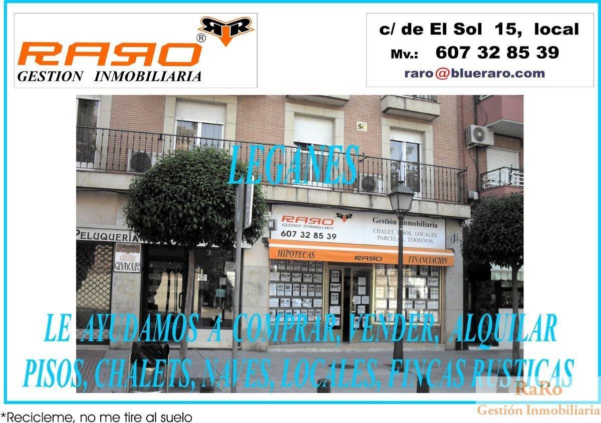 For rent of garage in Leganés