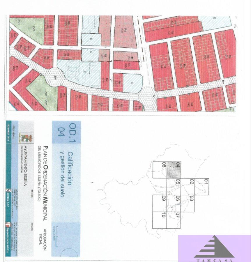 For sale of land in Seseña