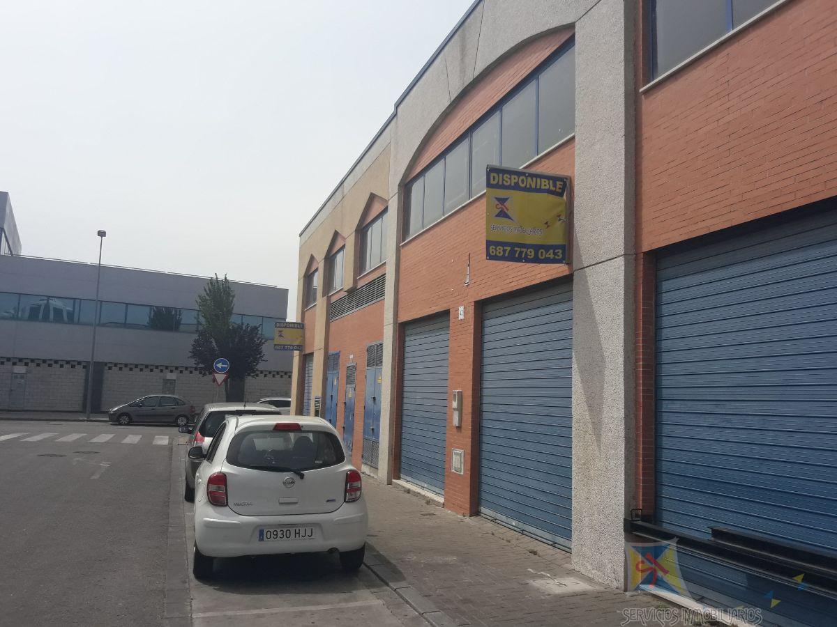 Alquiler de nave industrial en Sevilla