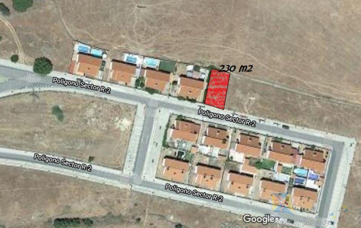 For sale of land in El Real de la Jara