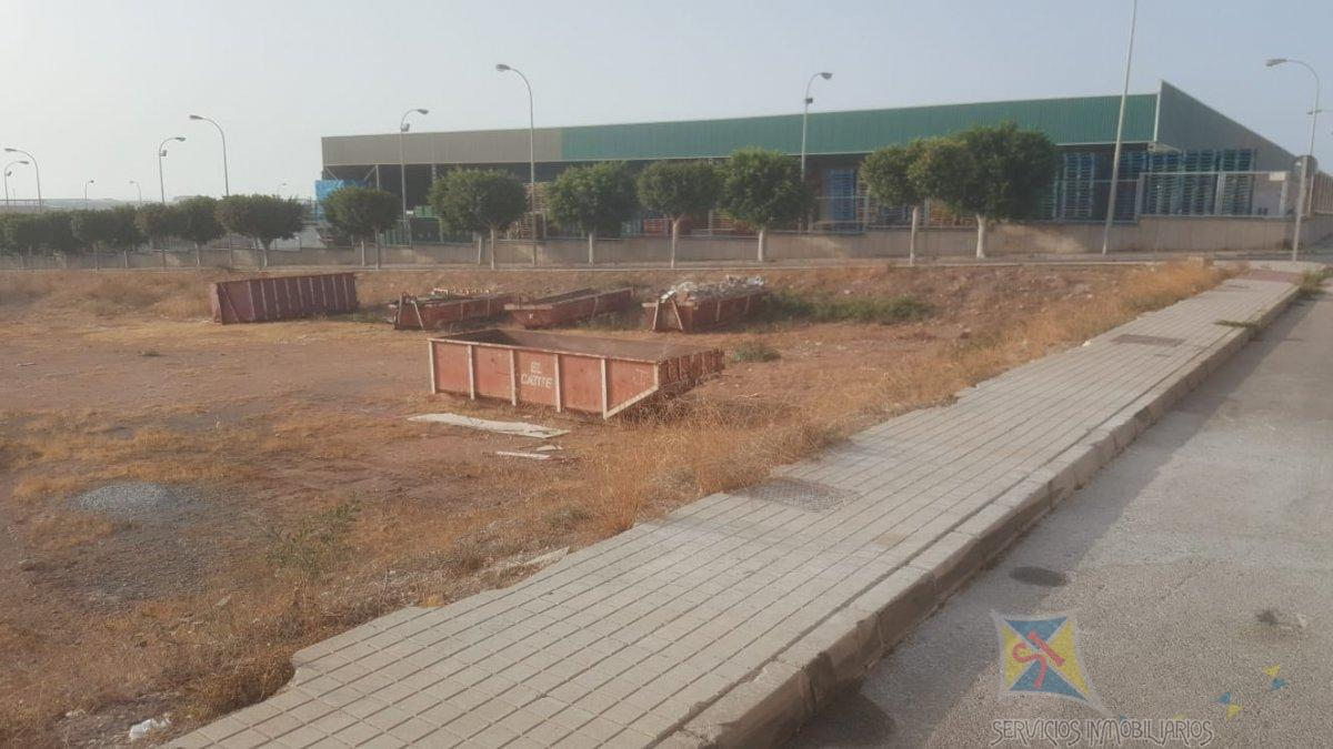 For sale of land in El Ejido