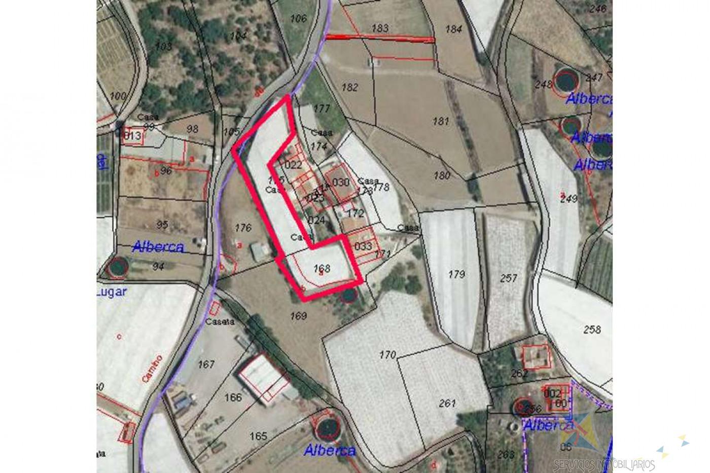 For sale of land in Algarrobo