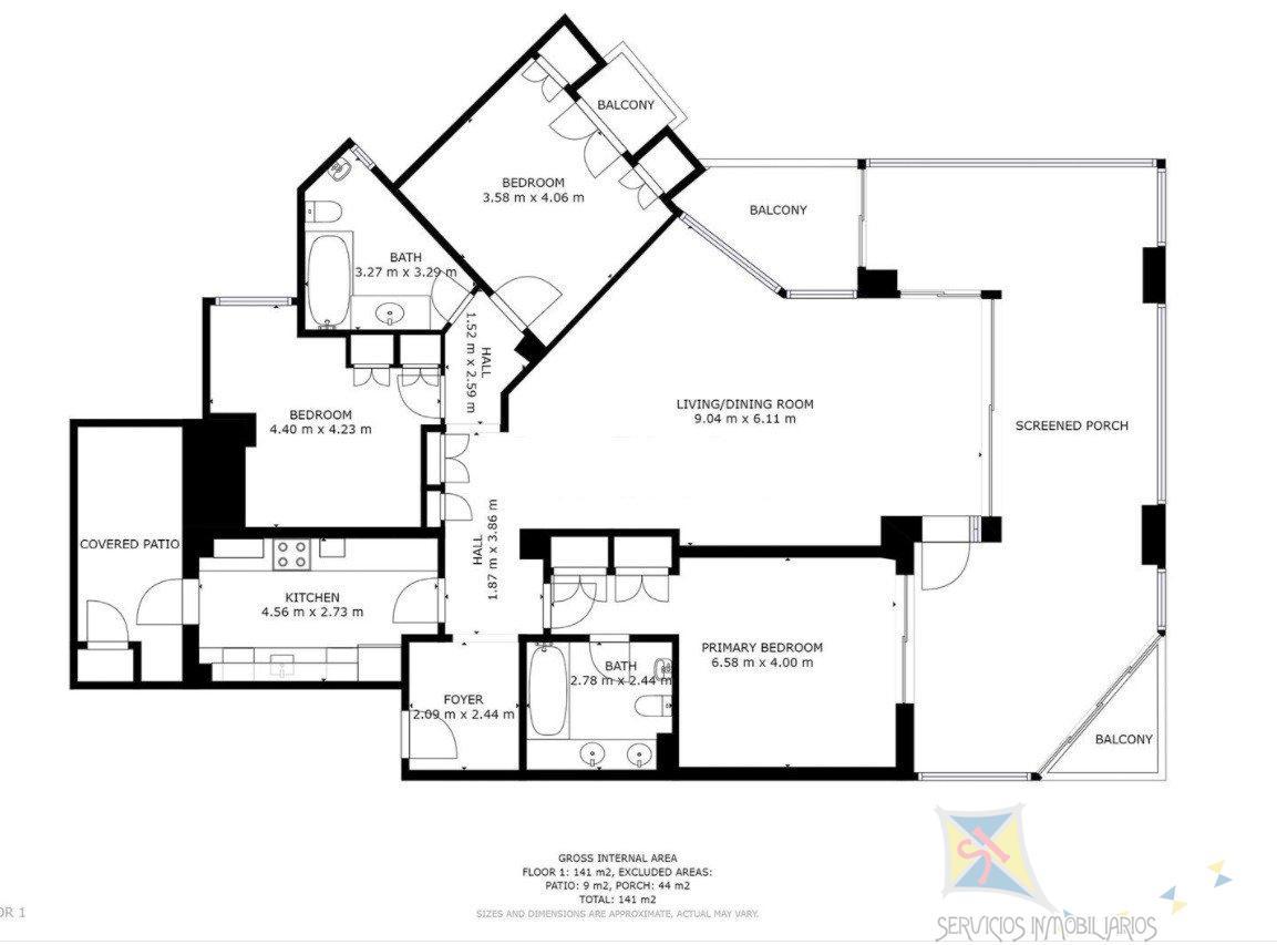 For sale of apartment in Elviria
