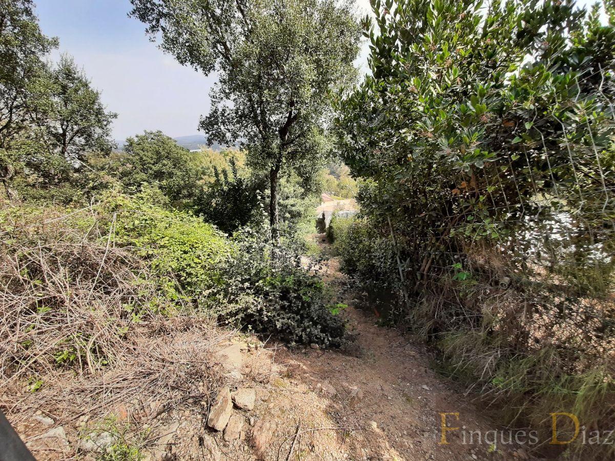 For sale of land in Fogars de la Selva