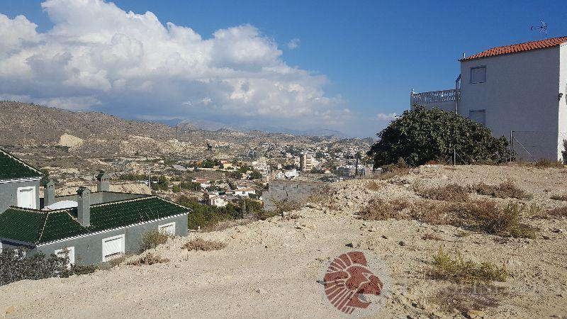 For sale of land in El Campello