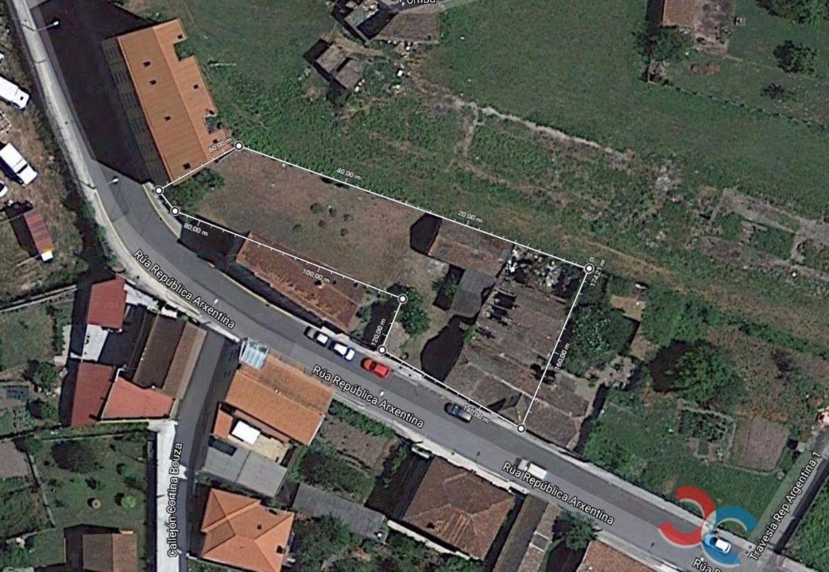 Venta de terreno en Marín