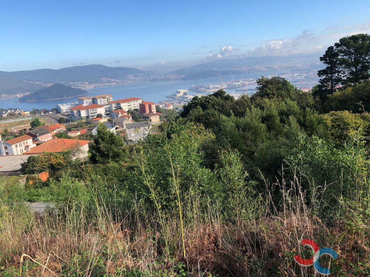 For sale of land in Marín