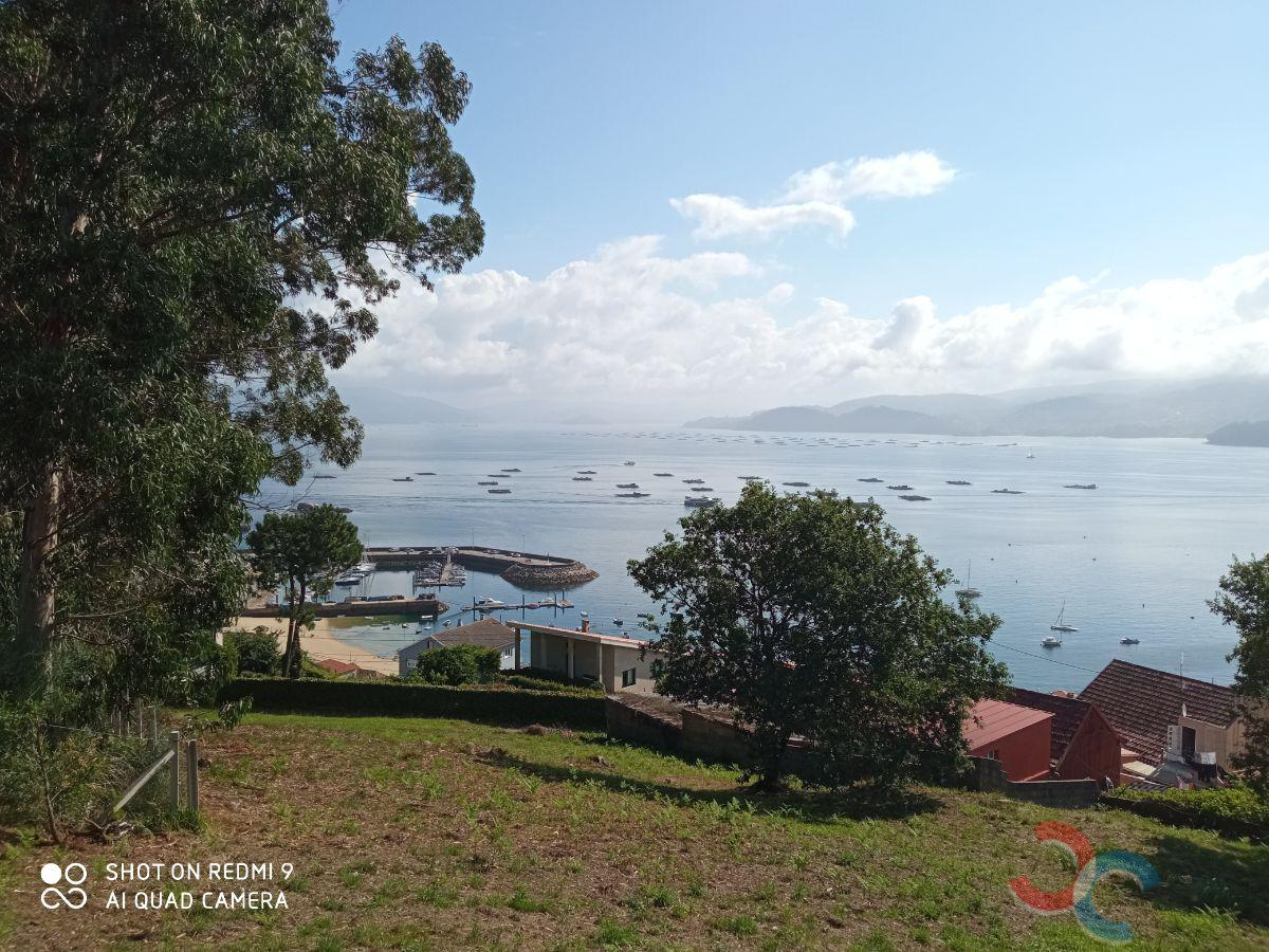 For sale of land in Bueu