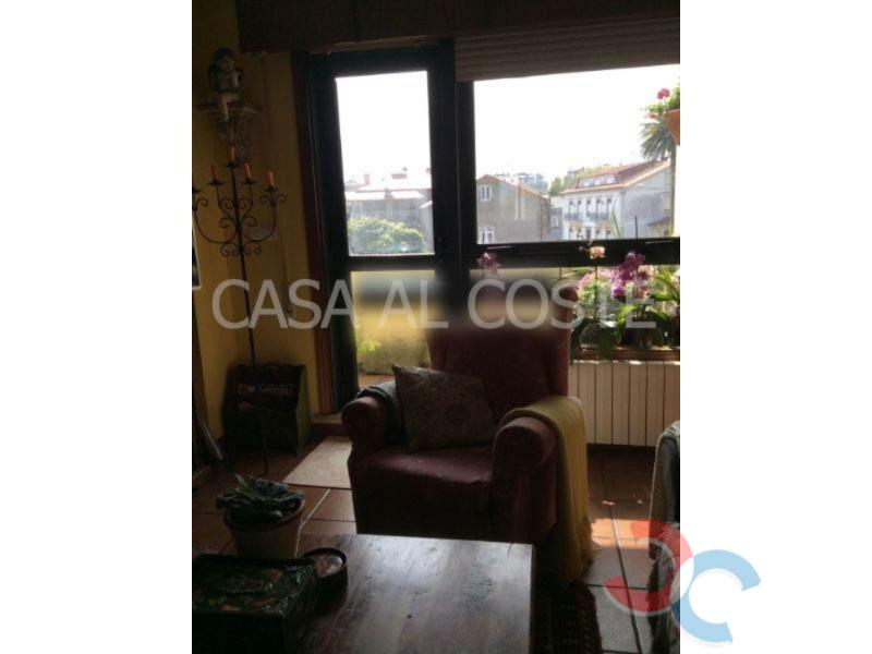 For sale of flat in A Guarda
