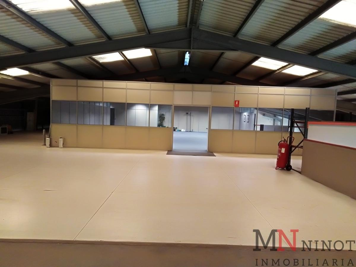 For rent of industrial plant/warehouse in Castellón