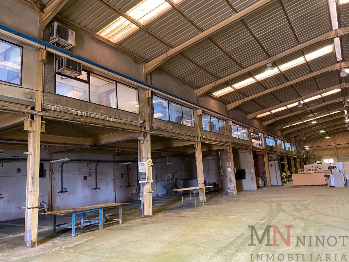 Alquiler de nave industrial en Castellón