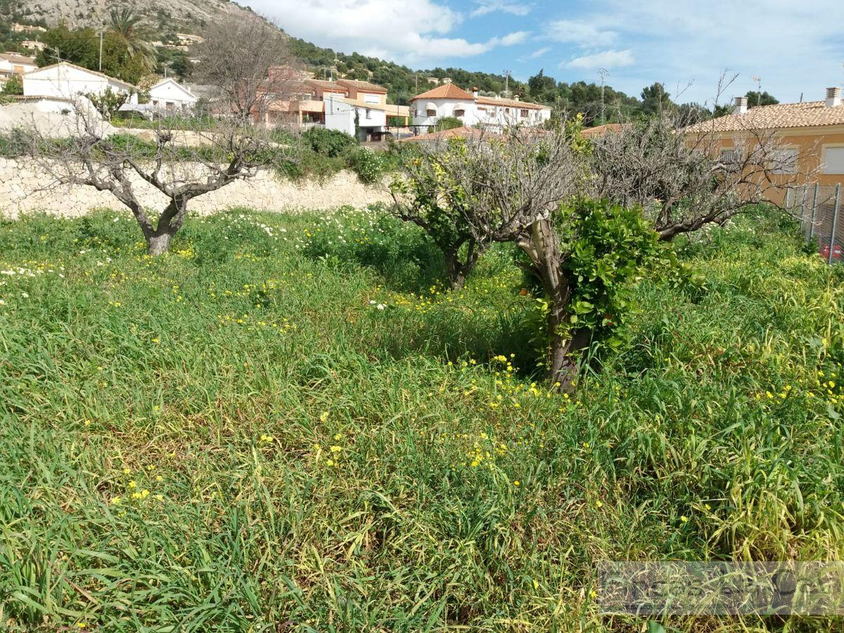 For sale of rural property in Finestrat