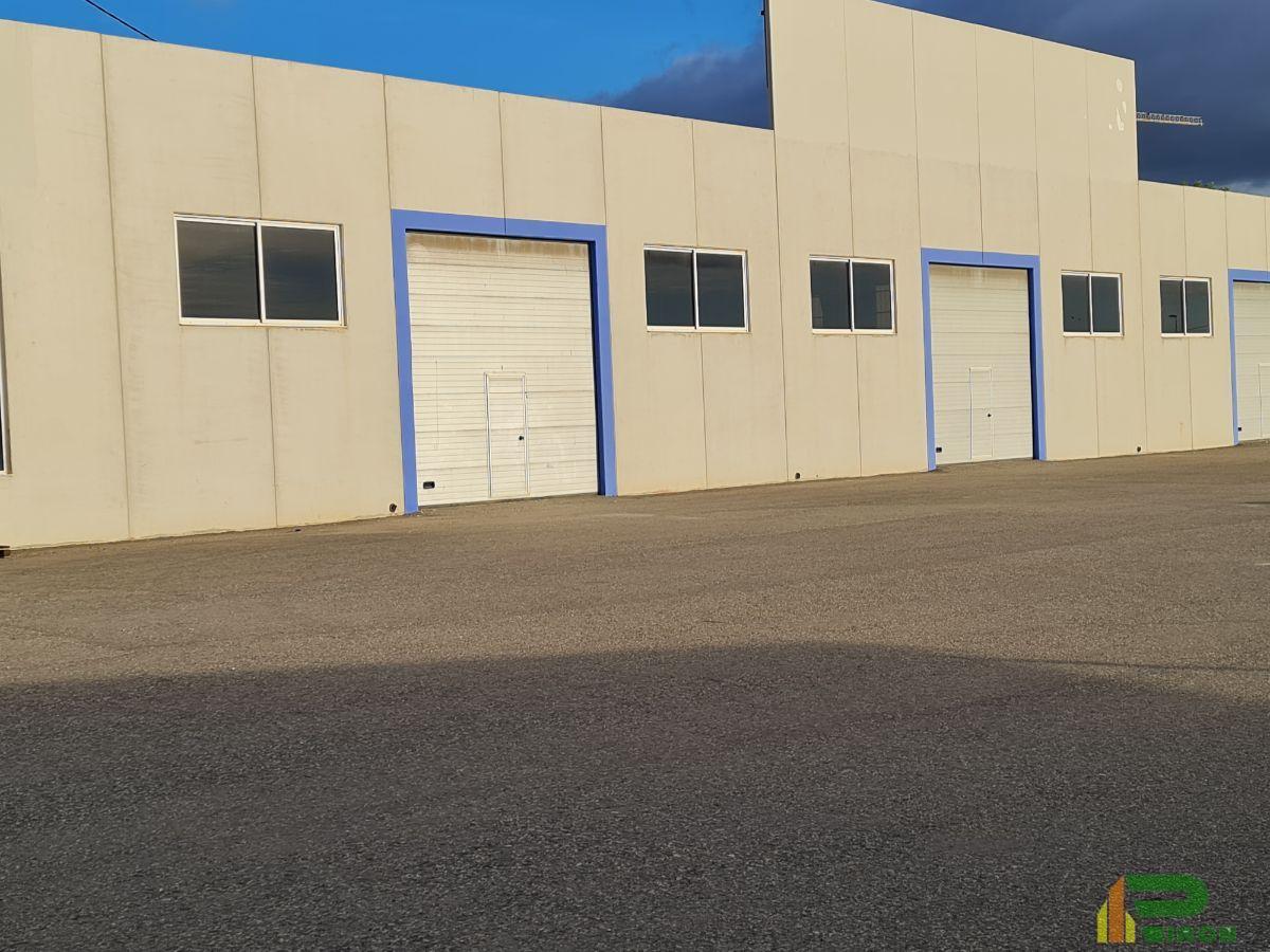 For rent of industrial plant/warehouse in La Hoya de Lorca