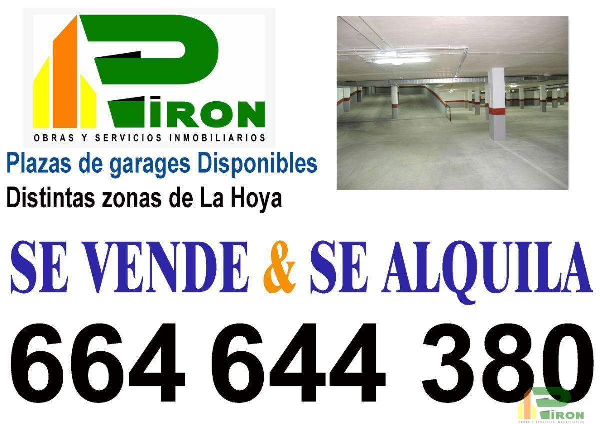 Venta de garaje en La Hoya de Lorca